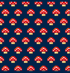 Pixelated video game icons vector