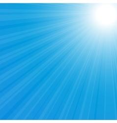 Sunburst back vector