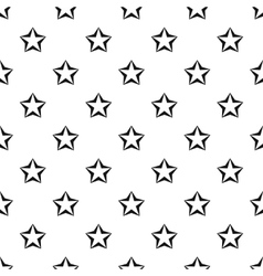Convex five pointed celestial star pattern vector