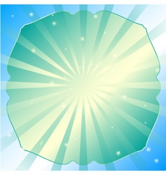 Radial abstract background vector