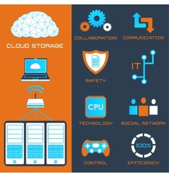 Cloud storage vector