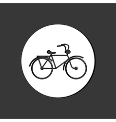 Graphic design of Bike lifestyle editable vector image vector image