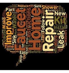 Home repairs for home improvement text background vector