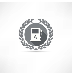 filling icon vector image