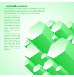 Creative green vector image vector image