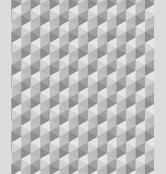 Modern seamless grey geometry triangle pattern vector