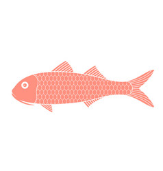 Red mullet vector