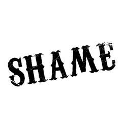 Shame rubber stamp vector