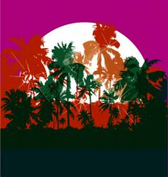 club tropicana vector image