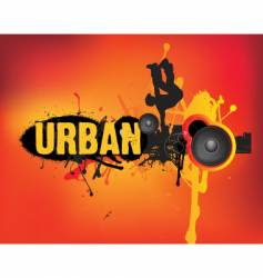 Urban dance vector