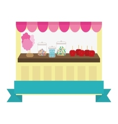 Candy store icon image vector