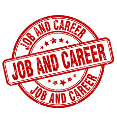 Job and career vector