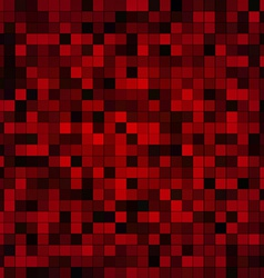 Red pixels vector image