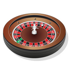 Roulette-Wheel vector image