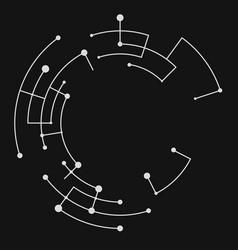 Abstract circle vector