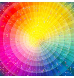 Background abstract rainbow vector image