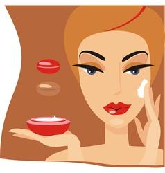 beauty spa vector image