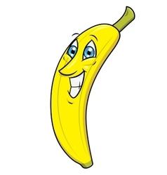 Smiling banana 2 vector