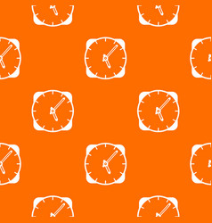 watch pattern seamless vector image vector image