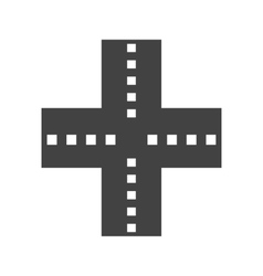 Linked road vector