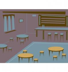 empty bar vector image vector image