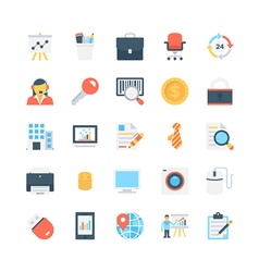 Office and stationery icons 2 vector