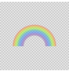 Realistic Rainbow vector image vector image