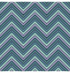 Zigzag geometric pattern vector image