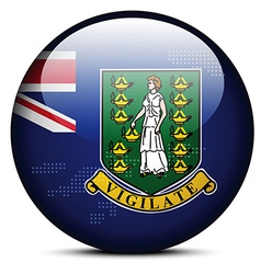British virgin islands vector
