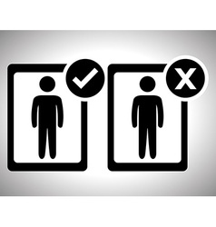 Survey icon design vector