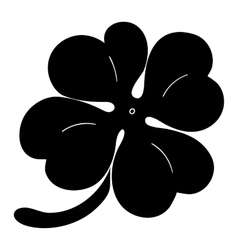 Leaf clover sign icon saint patrick symbol vector