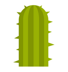Green plant of desert icon isolated vector