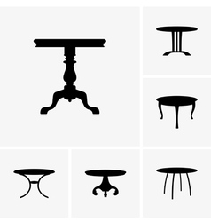 Small tables vector