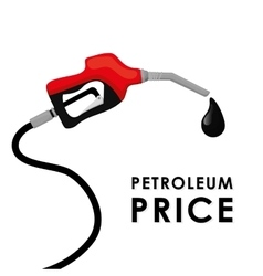 Petroleum and oil prices design vector