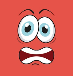 Cartoon face vector