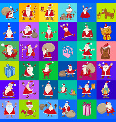 decorative pattern cartoon design vector image vector image