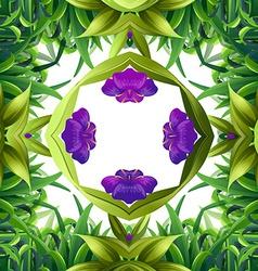Flora pattern vector image vector image