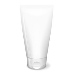 White tube cream vector
