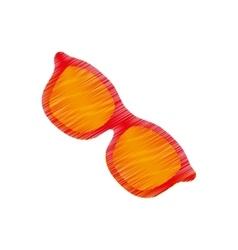Summer sun glasses vector image