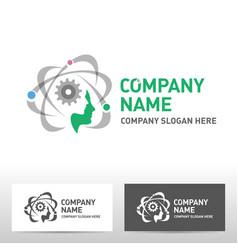 Engineering logo design vector
