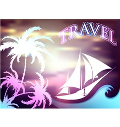 Travel and leisure vector
