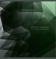 Abstract dark 3d depth background vector