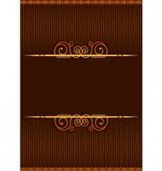 background brown vector image