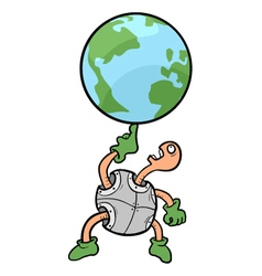funny world vector image vector image