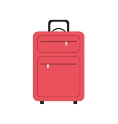 Bag baggage luggage travel icon graphic vector