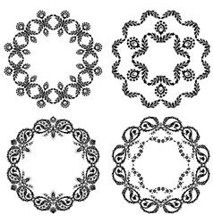 Black and white version design element vector