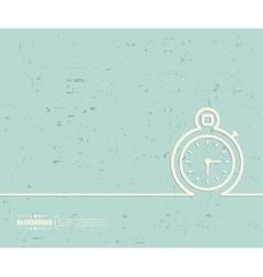 Creative stopwatch Art vector image vector image