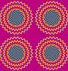 hypnotic pattern vector image