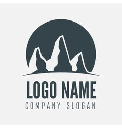 Logo label badge emblem or logotype element vector image vector image