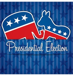 Presidential Election vector image